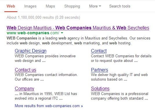 Metadescription-web-companies